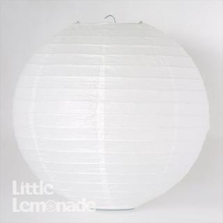 ペーパーランタン ボール ホワイト 30cm 【ウェディング・パーティー用デコレーション】