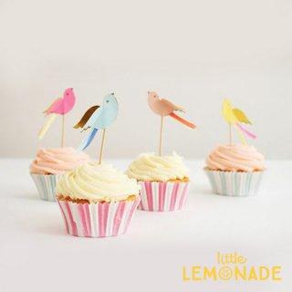 【Meri Meri メリメリ】 カップケーキ キット バード 【pretty birds cupcake kit】 (45-1326)