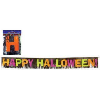 【amscan】フリンジバナー 【グリッター パーティーバナー halloween ハロウィン飾り付けに アムスキャン ◆SALE