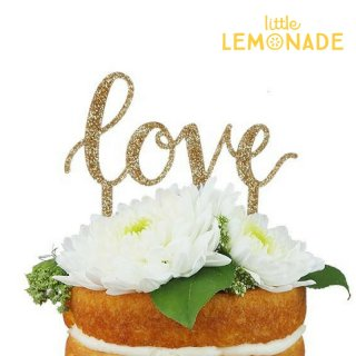 【Alexis Mattox Design】ケーキトッパー LOVE  cake topper ラブ