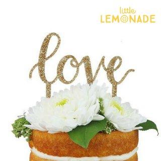 【Alexis Mattox Design】 LOVE ケーキトッパー ラブ お祝い 結婚式  バレンタイン ブライダル デコレーション (CT02)