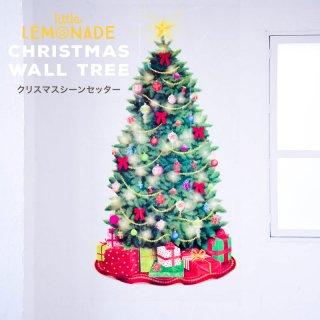 【クリスマス シーンセッター】大きなクリスマスツリーののウォールデコレーション【amscan】