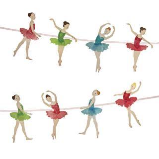 【Meri Meri メリメリ】バレリーナ ガーランド 【Little Dancers Ballet】 (45-0807)