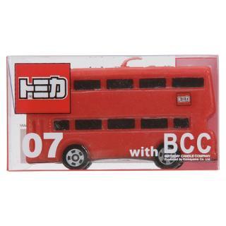【ケーキ用 キャンドル】BCCキャンドル トミカ バス 【1歳お誕生日】 お誕生日会のパーティーグッズ