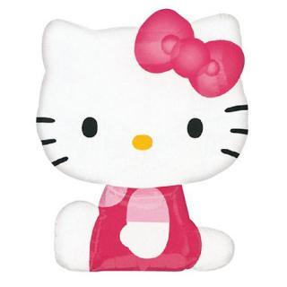 【フィルム風船】ガス無し【ハローキティ】Hello Kitty【パーティー バルーンデコレーション】【メール便発送可能】女の子のバースデイ・ギフトに