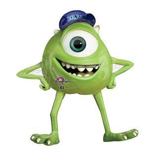 【フィルム風船】ガス無し【モンスターズインク マイク】Monsters inc MIKE【パーティー バルーンデコレーション】【メール便発送可能】バースデイ・ギフトに