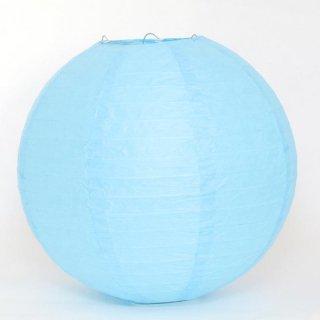 ペーパーランタン ボール スカイブルー30cm 【ウェディング・パーティー用デコレーション】