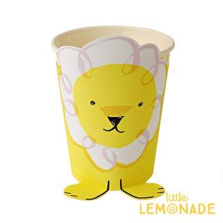 【Meri Meri】ライオン ペーパーカップ 【Silly Circus paper cup】紙コップ (45-1638 )