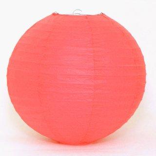 ペーパーランタン ボール レッド  30cm 【ウェディング・パーティー用デコレーション】