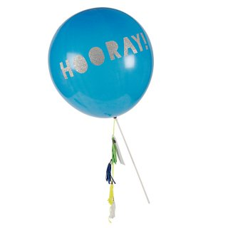 【Meri Meri メリメリ】バルーン ワンド ブルー 【balloon wand】 (45-1830)  ◆SALE