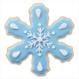 【Wilton ウィルトン】スノーフレーク 雪の結晶 クッキーカッター 3個入り 9.5cm〜5.7cm 抜型 クッキー型 クリスマス