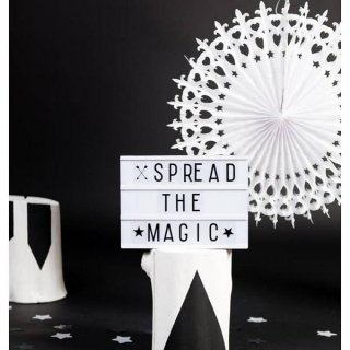 【a little lovely company】 ライトボックス アルファベットを組み合わせてオリジナル文字が作れる A4サイズ lightbox リトルラブリーカンパニー 照明 インテリア