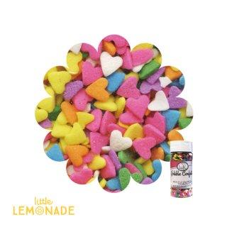 CK Sprinkles(スプリンクル)カラフルハート【お菓子作り シュガーパーツ 長期保存可能 カップケーキ デコレーション スイーツ 製菓 手作り アイシング バレンタイン】(78-11107)