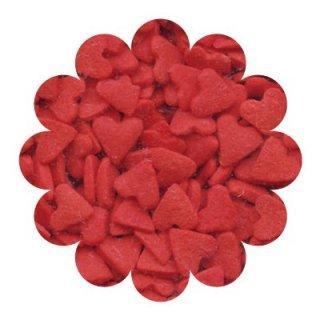 CK Sprinkles(スプリンクル)レッドハート【お菓子作り シュガーパーツ 長期保存可能 カップケーキ デコレーション スイーツ 製菓 アイシング バレンタイン】(78-11101)
