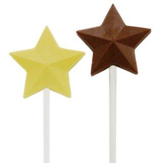 CK チョコレート型 ロリポップ型 スター型【チョコレートモールド 型抜き お菓子作り デコレーション スイーツ 製菓 手作り バレンタイン】(90-4253)