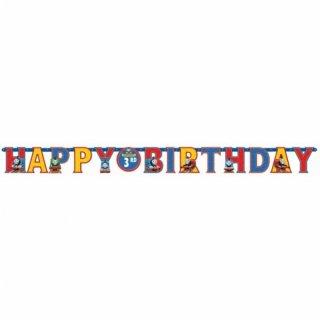 【amscan アムスキャン】HAPPY BIRTHDAY きかんしゃトーマス 年齢が入れられる ジャイアントバナー 【お誕生日 装飾 飾り付け ハッピーバースデイ 1歳誕生日】(#129659)