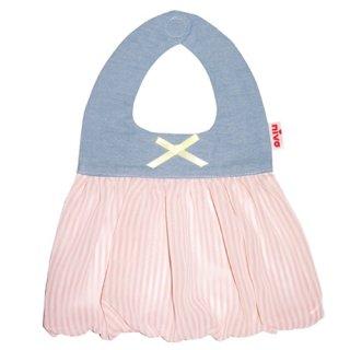【niva】nivaのおでかけスタイ☆Candy Stripes(キャンディストライプス)おしゃれスタイ よだれかけ ビブ 女の子 赤ちゃん 出産祝い お祝い ベビー(126)
