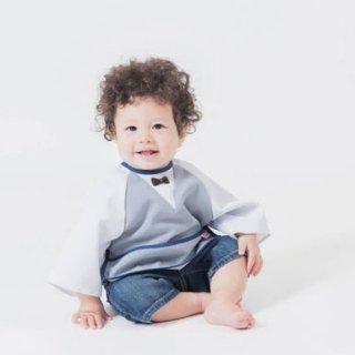 【niva】 お食事エプロン Restaurant bib BOY レストラン ビブ/ボーイ おしゃれスタイ よだれかけ 男の子 女の子 赤ちゃん 出産祝い お祝い ベビー BOYS