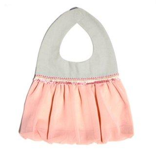 【niva】nivaのおでかけスタイ☆balloon /ピンク おしゃれスタイ よだれかけ ビブ 女の子 赤ちゃん 出産祝い お祝い ベビー
