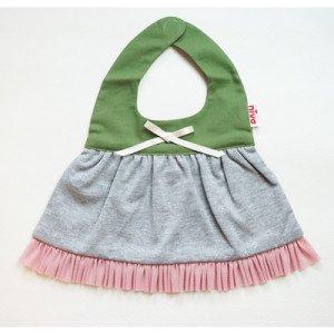 【niva】nivaのおでかけスタイ☆Soft military(ソフトミリタリー) おしゃれスタイ よだれかけ ピブ 男の子 女の子 コットン 赤ちゃん 出産祝い お祝い ベビー YKZ
