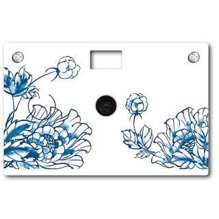Paper Camera B&M Porcelain Flower