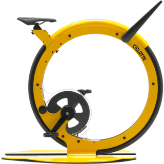 Ciclotte Bike - Steel&Glass Fibre (Yellow)