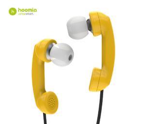 hoomia 【 Bon9 】 イヤフォン [Yellow]