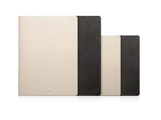 MINIMAL LEATHER 本革レザーケース for iPad (9.7inch)(第5世代/第6世代)/Air2/Air ケース (Ivory)