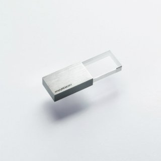 beyond Object empty memory 8GB Transparency Stainless Steel Finish