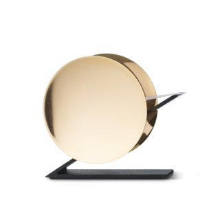 beyond Object Cantili tape dispenser Polished Gold Finish