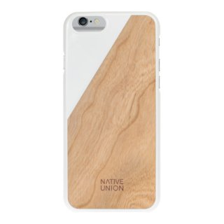Native Union Clic Wooden iPhone 6 case White