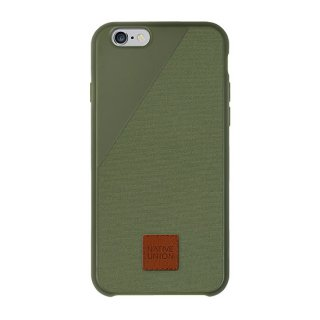 Native Union Clic 360 iPhone6/6s Canvas case Olive