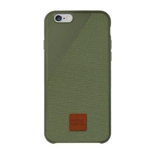 Native Union Clic 360 iPhone6/6s Canvas case Olive