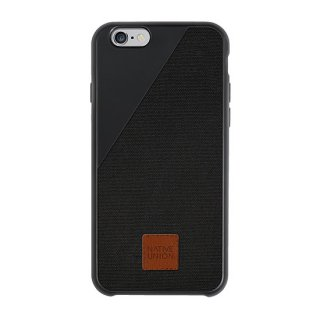 Clic 360 iPhone6 plus/6s plus Canvas case Black