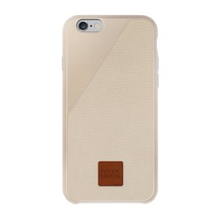 Clic 360 iPhone6 plus/6s plus Canvas case Sand