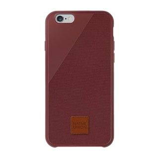 Clic 360 iPhone6 plus/6s plus Canvas case Marsala
