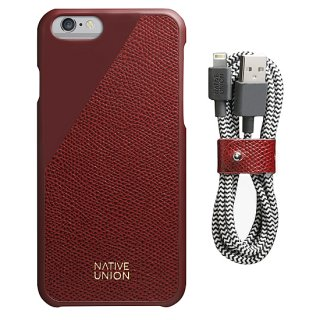 Native Union Limited Edition Leather set Bordeaux