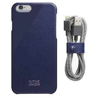 Native Union Limited Edition Leather set Marine Blue