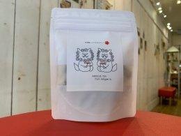 <strong>石垣島のハイビスカスティー</strong><br>teapack入り 水出しOK  自然の赤いハイビスカス色に心ウキウキ