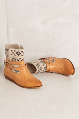 【アンソロポロジー】James Embroidered Booties 【Anthropologie】