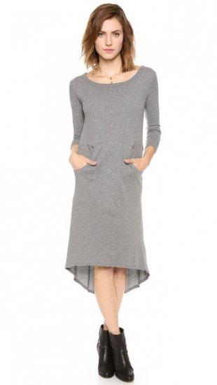 【エンザ・コスタ】【Enza Costa】 Cashmere High Low Dress  / ドレス