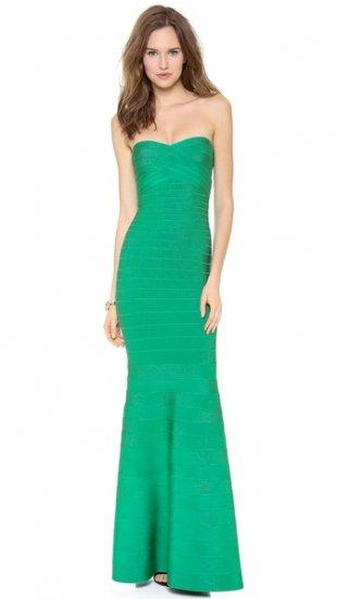 【エルベレジェ】【Herve Leger】 Sara Strapless Dress  / ドレス