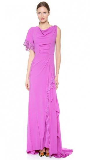 【ニナリッチ】【Nina Ricci】 One Shoulder Gown  / ドレス
