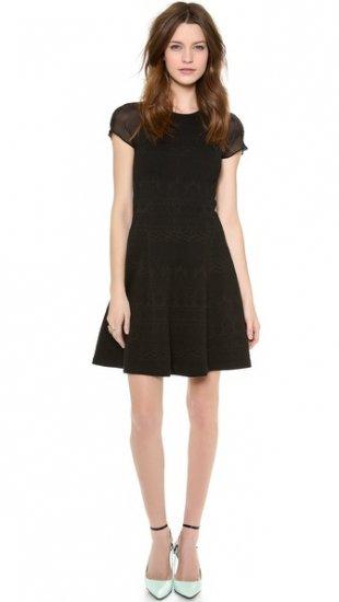 【レベッカテイラー】【Rebecca Taylor】 Jacquard Dress  / ドレス