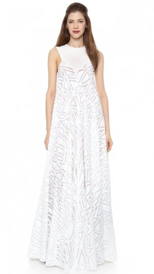 【ヴィオネ】【Vionnet】 Sleeveless Gown  / ドレス
