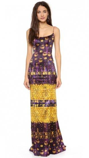 【ローレン・スコット】【L'Wren Scott】 Sleeveless Multicolored Gown  / ドレス