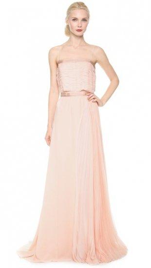 【ニナリッチ】【Nina Ricci】 Spaghetti Strap Long Gown  / ドレス