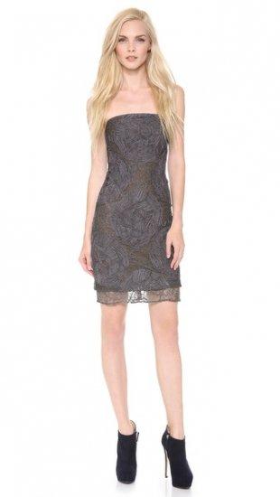 【ヴェラ ウォン】【Vera Wang Collection】 Strapless Lace Dress  / ドレス