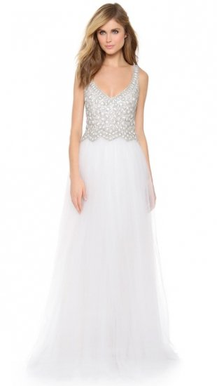 【コレット ディニガン】【Collette Dinnigan】 Beaded Tulle Gown  / ドレス