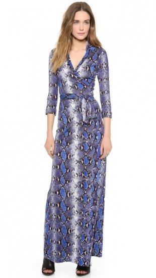 【ダイアンフォンファステンバーグ】【Diane von Furstenberg】 Abigail Maxi Wrap Dress  / ドレス